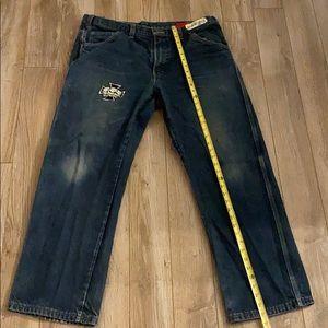 Dickies work used  jeans